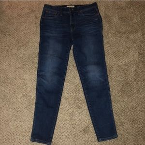Madewell High Rise Skinny Jeans 32